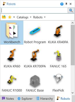 Layout3D Robots